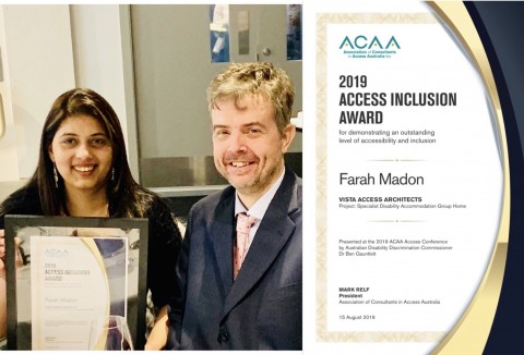 2019 Access Inclusion Award Winner