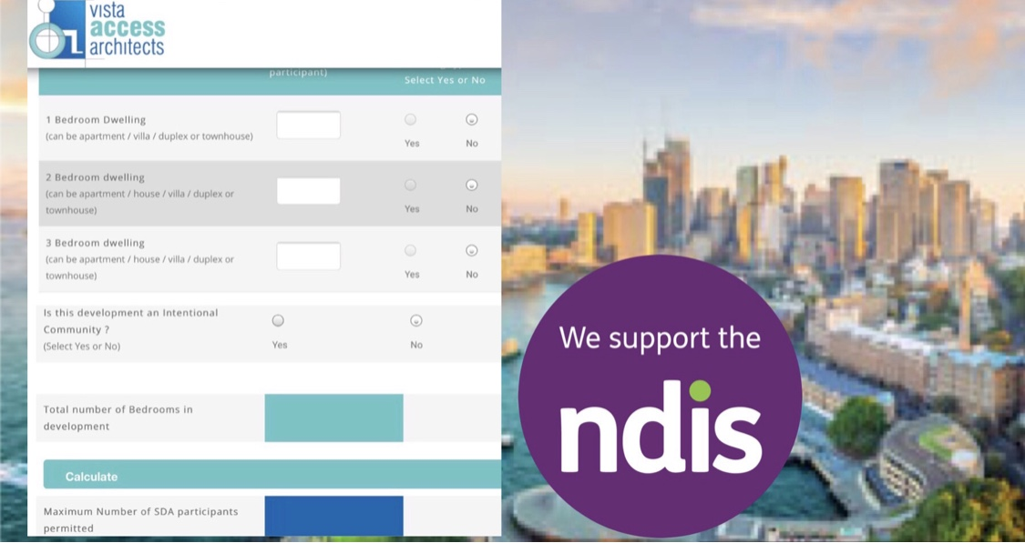 NDIS SDA Density Calculator